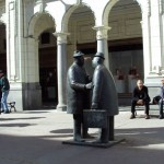 Скульптурная группа «Бизнесмены»
