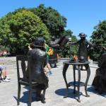 Памятник Знаменитой пятерке